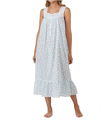 Eileen West Seaglass Cotton Lawn Ballet Nightgown