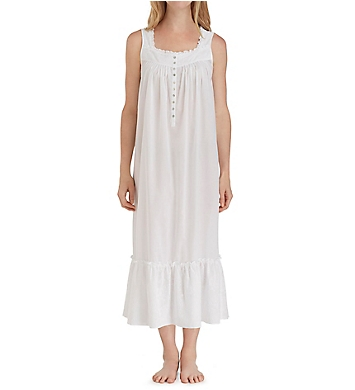 Eileen West Floral Embroidery Ballet Nightgown