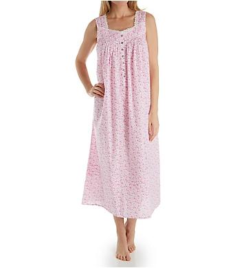 Eileen West Pink Floral Ballet Nightgown