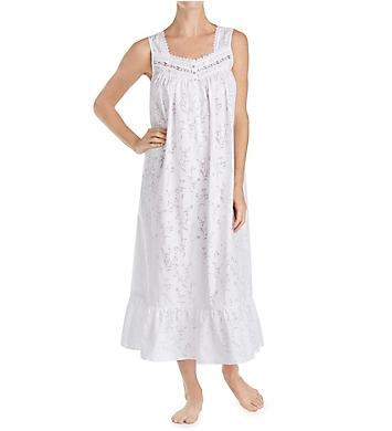 Eileen West Floral Burnout Ballet Nightgown