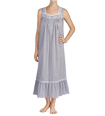 Eileen West Chambray 100% Cotton Chambray Ballet Nightgown