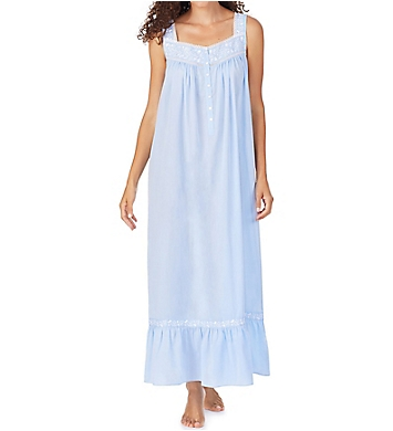 Eileen West 100% Cotton Chambray Ballet Nightgown
