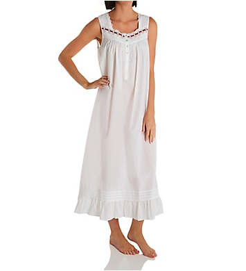 Eileen West Cotton Lawn Long Ballet Nightgown