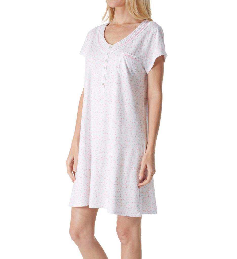 Eileen West Jersey Short Nightgown