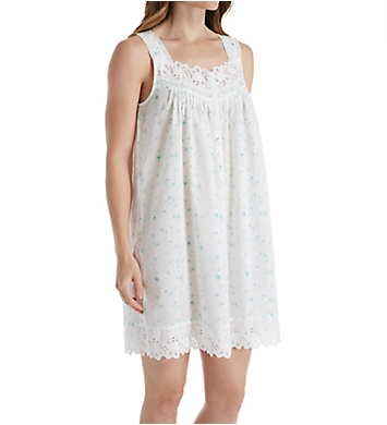Eileen West Floral Toss Short Chemise
