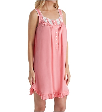 Eileen West Butterfly Cotton Jersey Short Chemise
