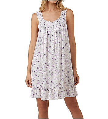 Eileen West Lilac Roses Short Chemise