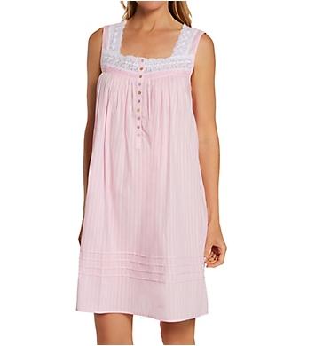 Eileen West 100% Cotton Short Nightgown
