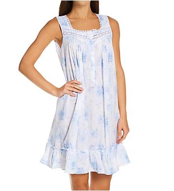 Eileen West 100% Cotton Lawn Short Nightgown