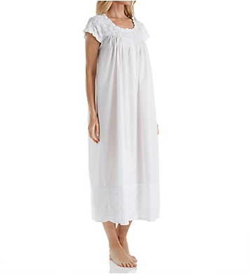 Eileen West Embroidery Cotton Ballet Nightgown