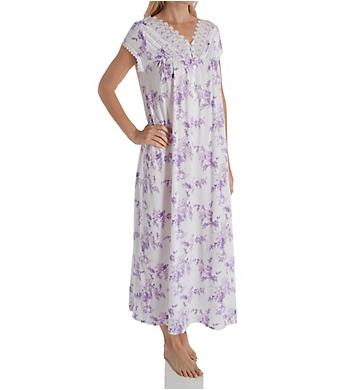 Eileen West Cotton Modal Cap Sleeve Ballet Nightgown 5419945 ... 43485e153