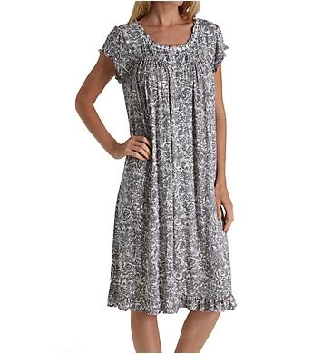 Eileen West Floral Sketch Modal Waltz Nightgown