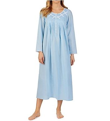 Eileen West 100% Cotton Long Sleeve Ballet Nightgown
