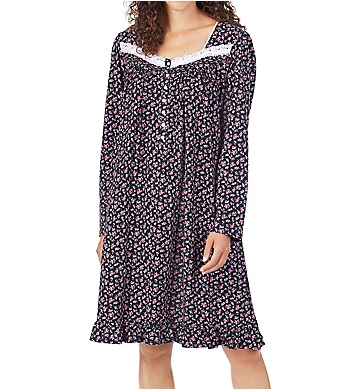 Eileen West Cotton Jersey Knit Short Nightgown