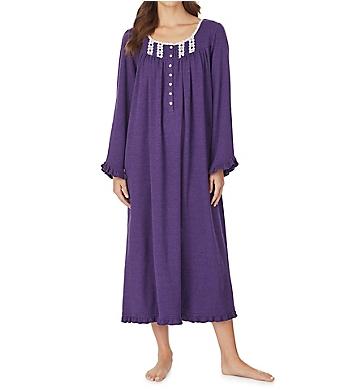 Eileen West Violet Heather Cotton Ballet Nightgown