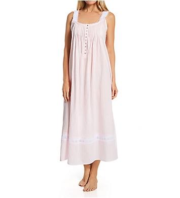 Eileen West 100% Cotton Sleeveless Stripe Ballet Gown