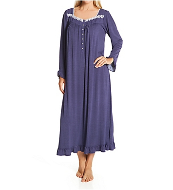 Eileen West Long Sleeve Modal Spandex Knit Waltz Nightgown