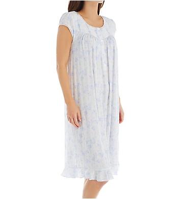 Eileen West Modal Jersey Knit Peri Waltz Nightgown