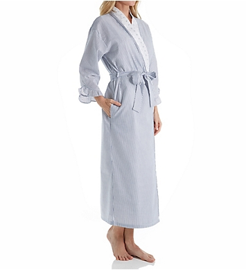 Eileen West Dainty Seersucker Ballet Wrap Robe