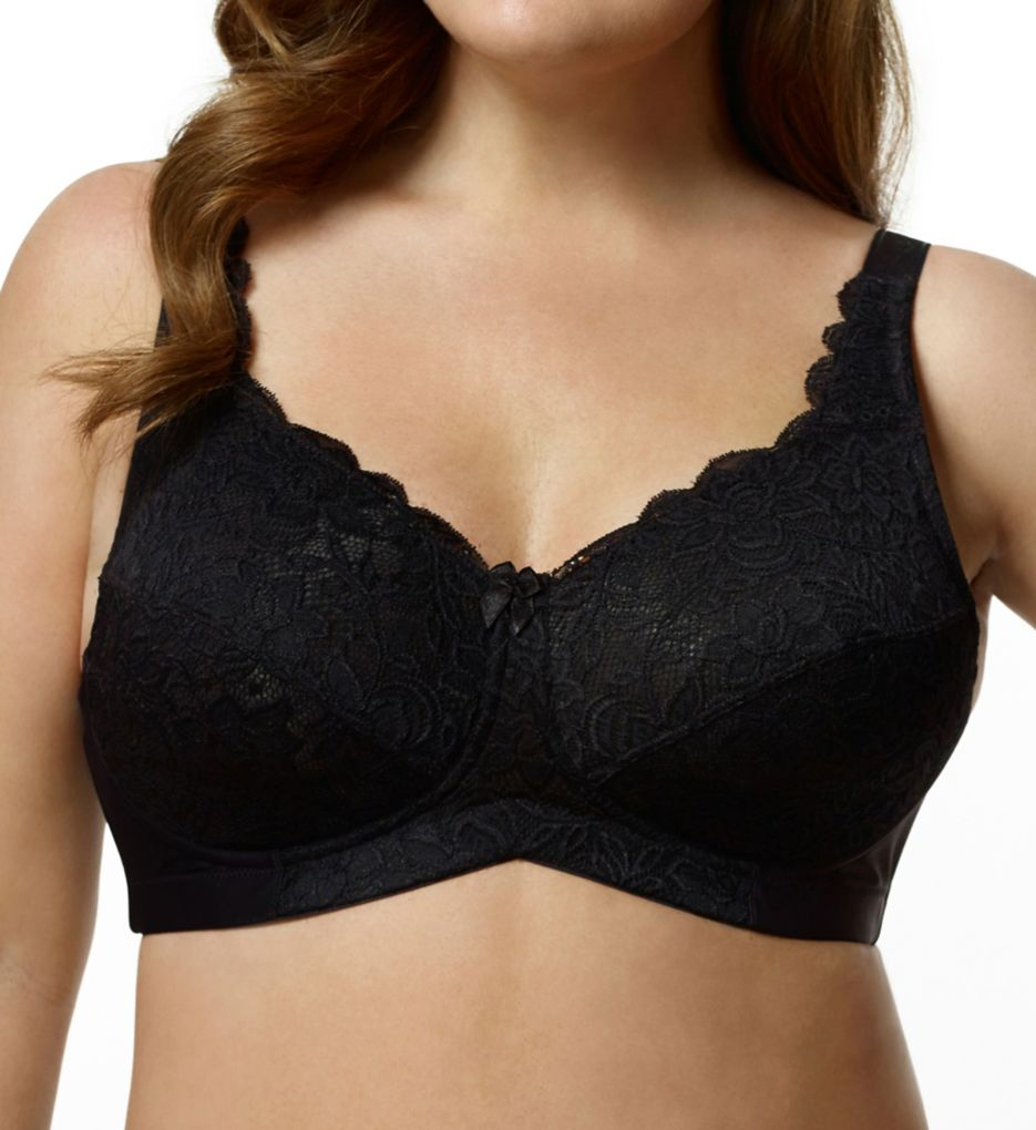 Elila Stretch Lace Softcup Bra