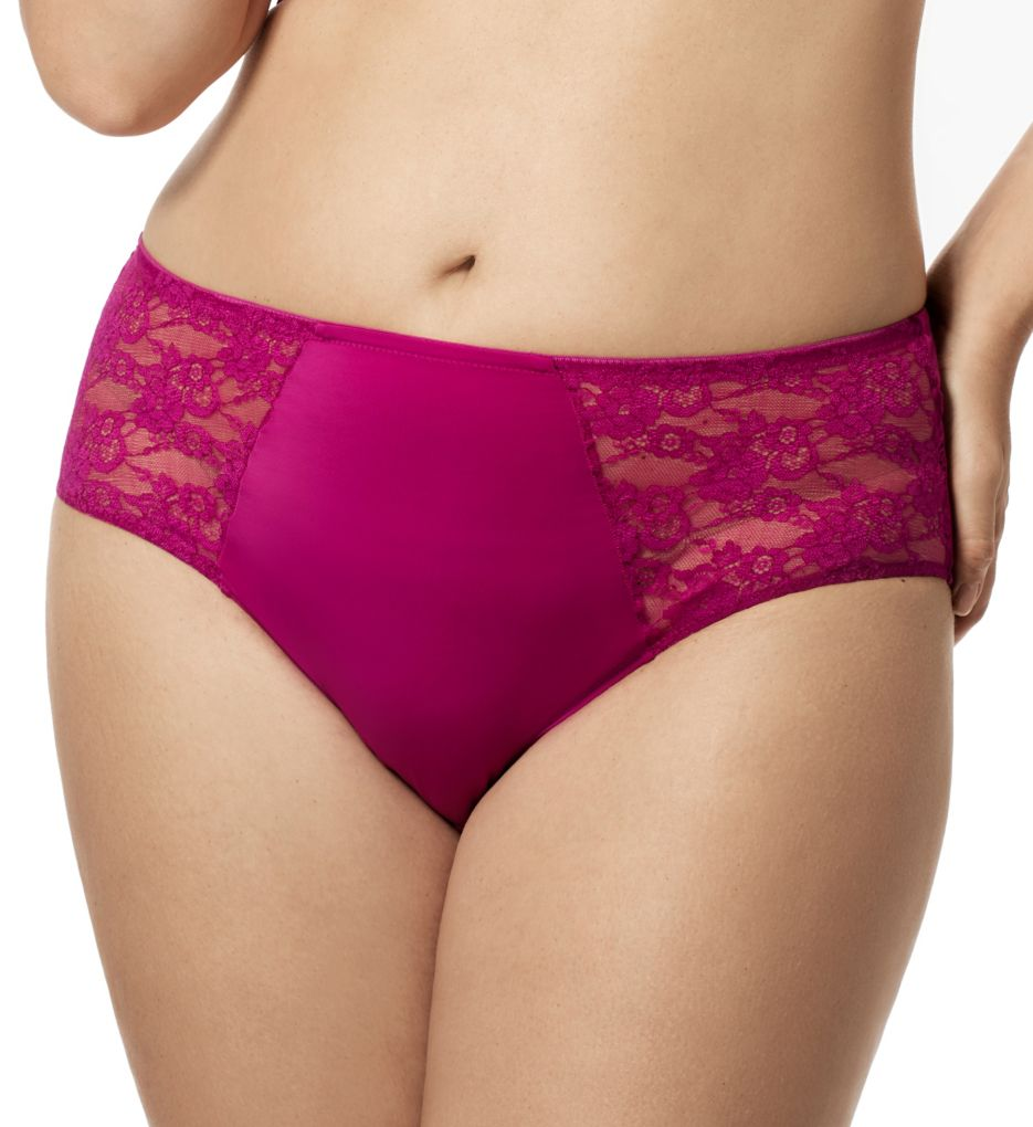 Elila Lace and Microfiber Panty