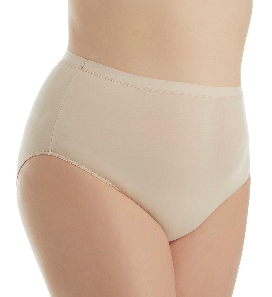 Elita 6043 Plus Size Cotton Lycra Full Hi Cut Brief Panty
