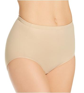 Elita Silk Magic Microfiber Full High Cut Brief Panty