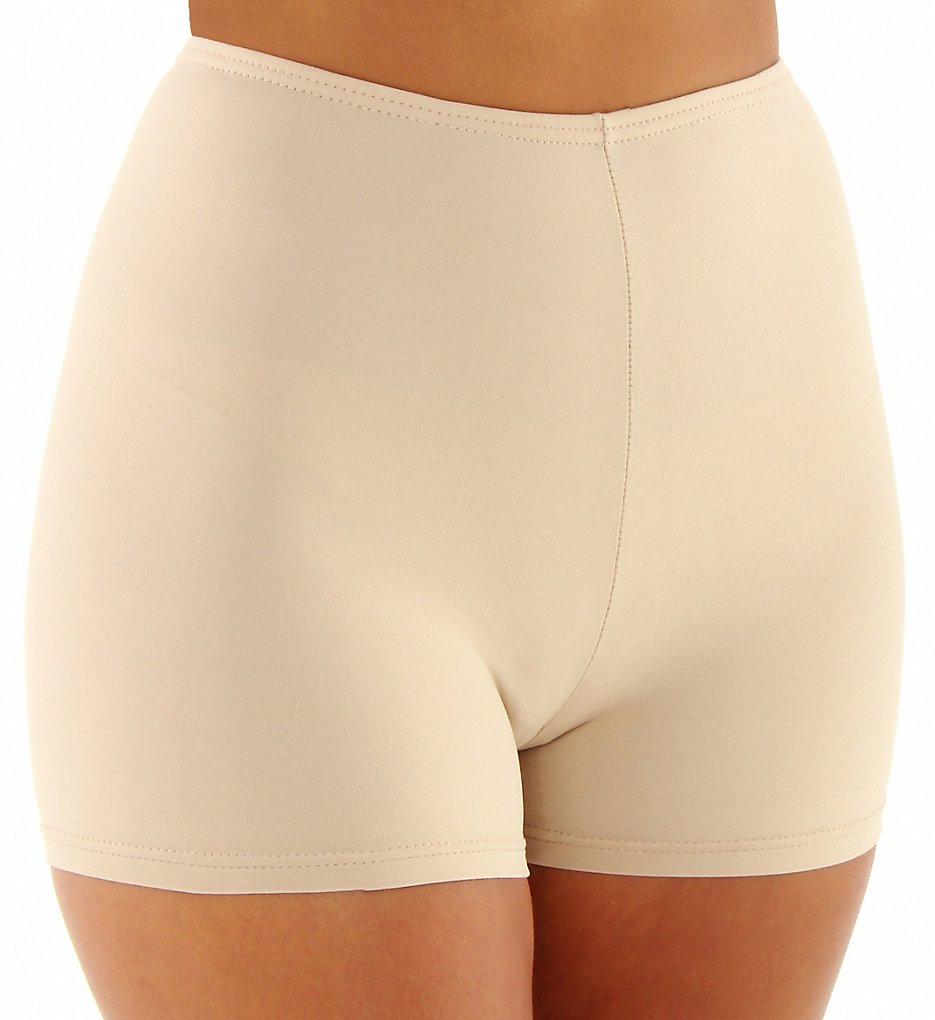 Elita - Elita 8862 Silk Magic Microfiber Boyshort Panty (Classic Beige S)