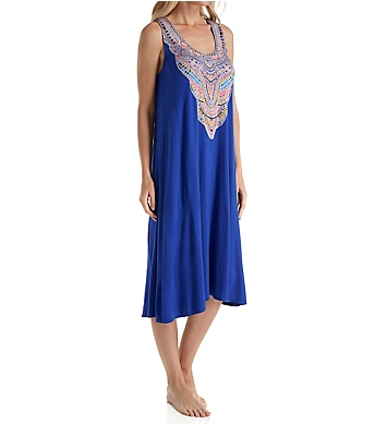 Ellen Tracy Cubana Cool Midi Gown