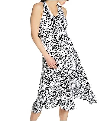 Ellen Tracy Bloom Sleeveless Midi Gown with Shelf Bra