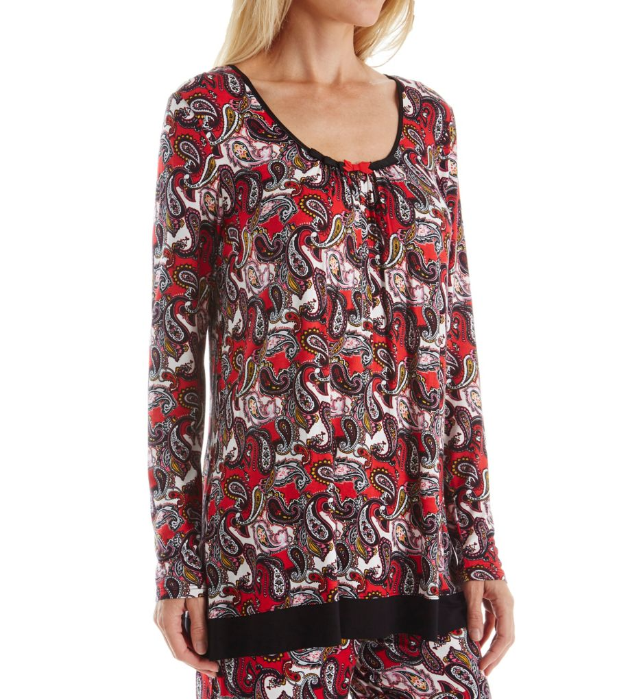 Ellen Tracy Holiday Bliss Long Sleeve Top