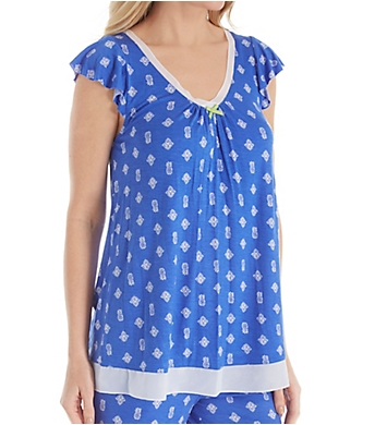 Ellen Tracy Summer Short Sleeve Top