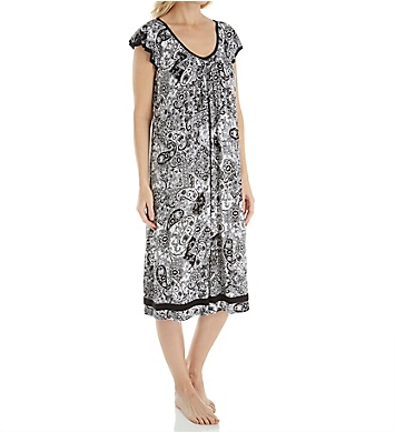 Ellen Tracy Yours to Love Short Sleeve Ballet Gown
