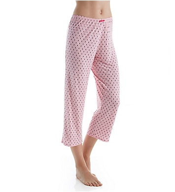 Ellen Tracy Tickled Pink Cropped Pant