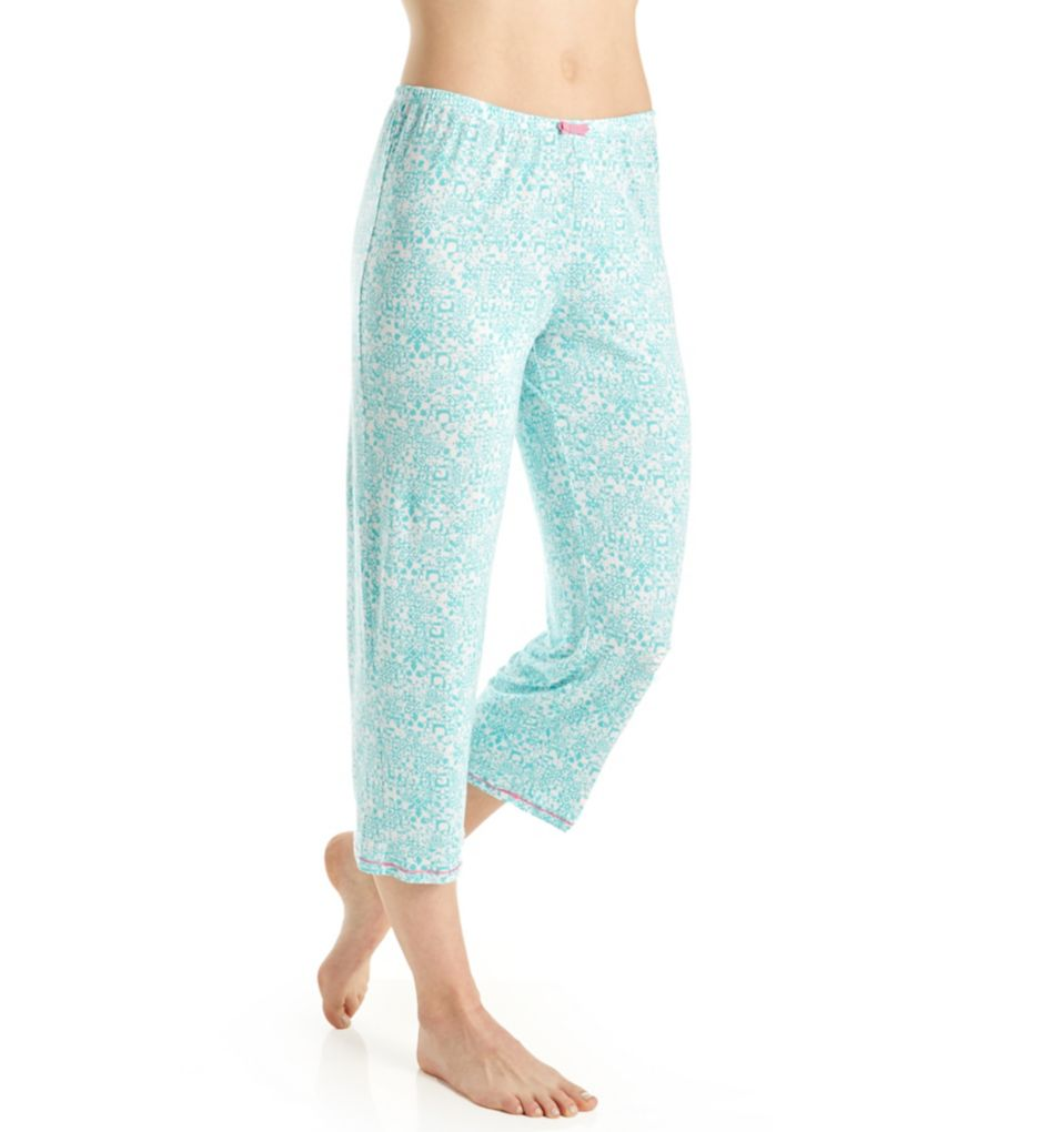 Ellen Tracy Coastal Charm Cropped Pant