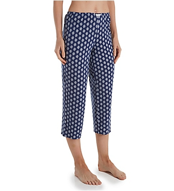 Ellen Tracy Geo Cropped Pant