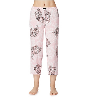 Ellen Tracy Paisley Damask Cropped Pant