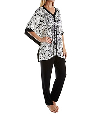 Ellen Tracy Holiday Bliss Caftan PJ Set