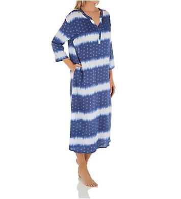 Ellen Tracy Nightgown 3/4 Sleeve