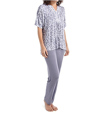 Ellen Tracy Singapore Tunic PJ Set