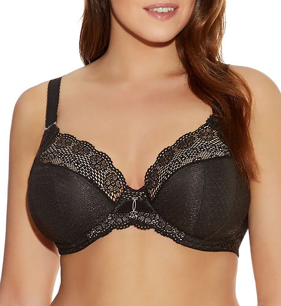 Elomi EL4010 Carmen Underwire Plunge Bra with Stretch Cup