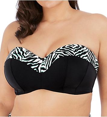 Elomi Zulu Rhythm Underwire Bandeau Bikini Swim Top