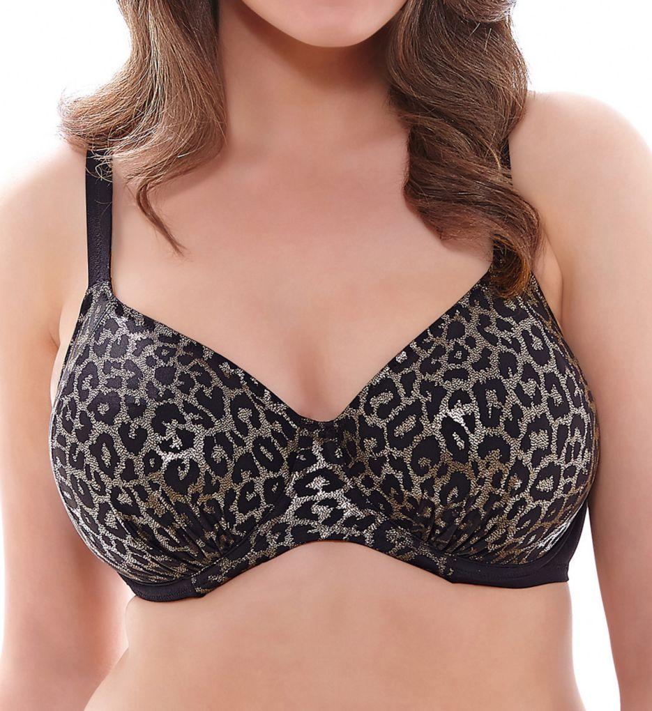 Elomi Wild Thing Underwire Gathered Bikini Swim Top