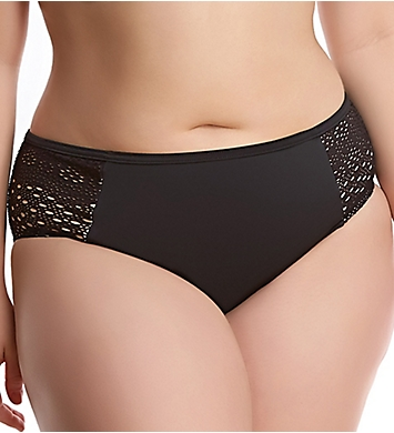 Elomi Indie Crochet Mid Rise Brief Swim Bottom