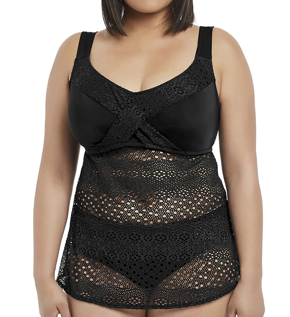 Elomi Indie Wirefree Twist Front Tankini