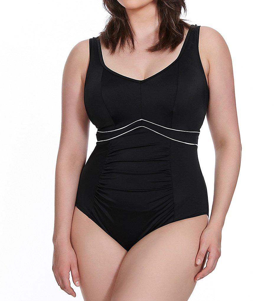 Elomi ES7617 Essentials Firm Control One Piece Swimsuit (Black)