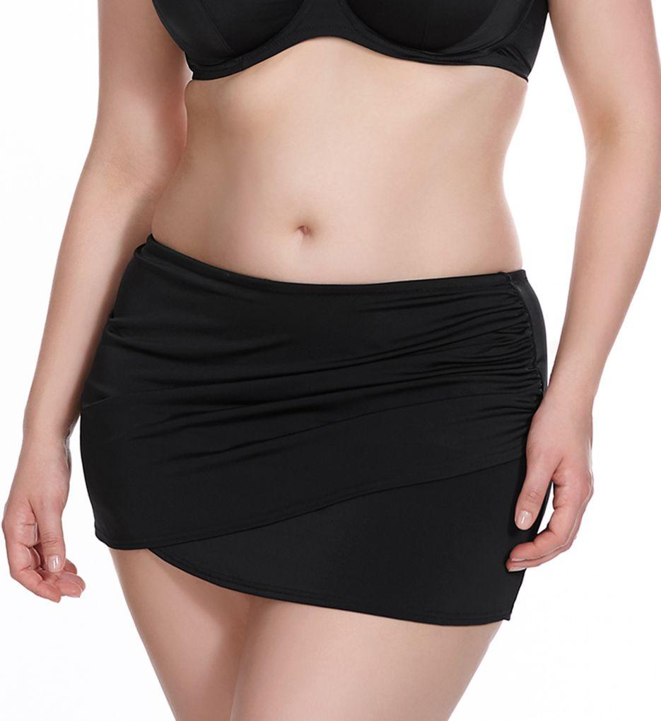 Elomi Essentials Wrap Skirted Brief Swim Bottom