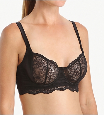 else Lingerie Signature Silk & Lace Underwire Balcony Bra
