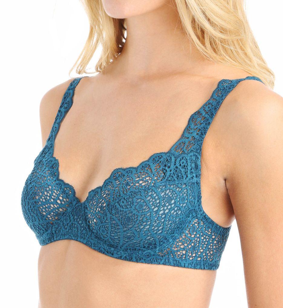 else Lingerie Crochet Lace Underwire Plunge Full Cup Bra