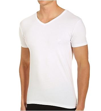 Emporio Armani Essentials Stretch Cotton V-Neck